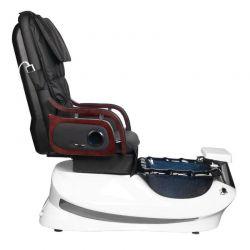 SPA Pediküre Stuhl mit Massage Weiß