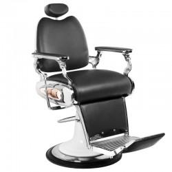 Fauteuil Coiffure Barbier  114271 Fauteuil de barbier style moto noir