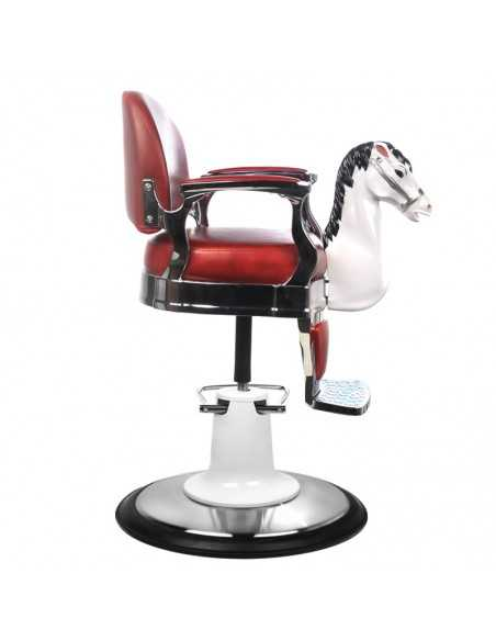 RED HORSE CHILD STYLING CHAIR
