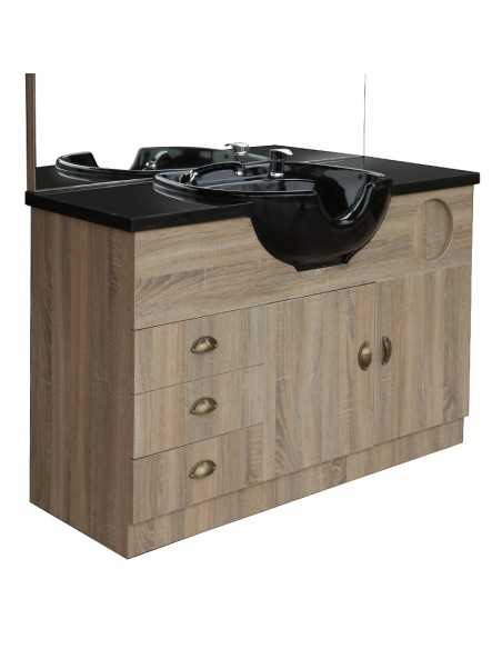 GABBIANO HAIRDRESSING CONSOLE WITH A SINK QT-001