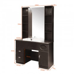 GABBIANO HAIRDRESSING CONSOLE WITH A SINK QT-005
