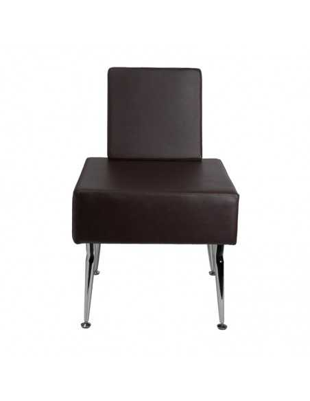 GABBIANO CHAIR FOR WAITING ROOM D-23 BROWN