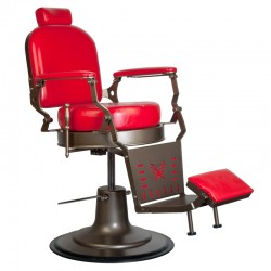 GABBIANO BARBER CHAIR RED STAR