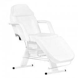 Table de Massage  100712 FAUTEUIL ESTHÉTIQUE BLANC AVEC BAC DE RANGEMENT A202