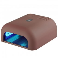 36W UV TIMER SOFT LAMP CAPPUCCINO WITH SLIDING BOTTOM