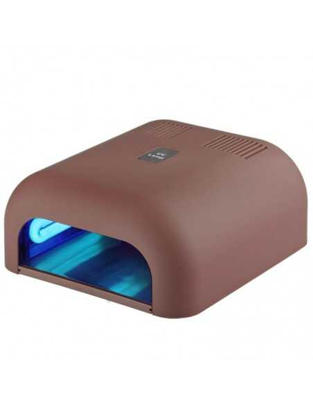 LAMPE CAPPUCCINO 36W UV AVEC FOND COULISSANT