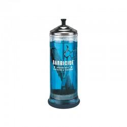 Stérilisateur UV  106162 BARBICIDE Récipient en verre pour la désinfection 1100 ml