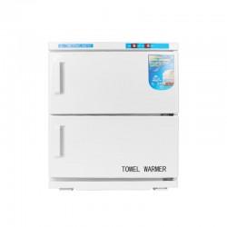 CHAUFFE-SERVIETTES AVEC STERILISATEUR UV-C 32 L DOUBLE BLANC