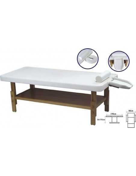 WHITE Ayurvedic massage table