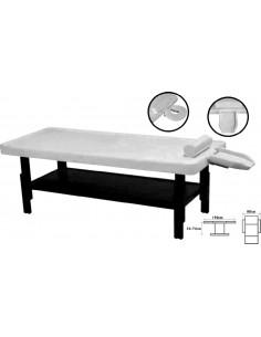 Ayurvedic massage table white
