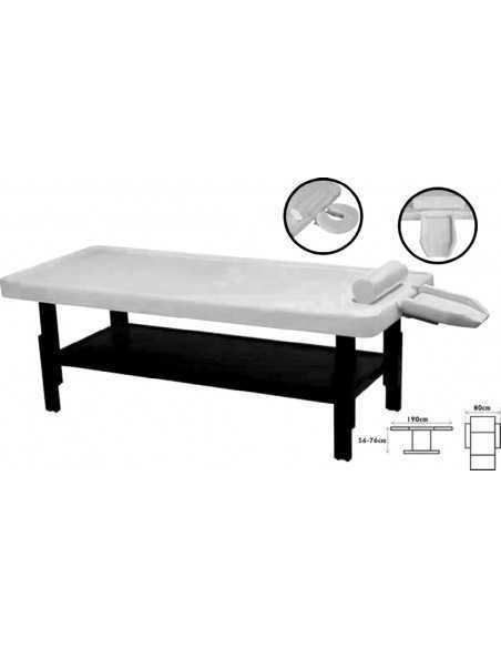 Ayurvedic massage table black