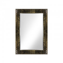 Coiffeuses Miroir  133500 COIFFEUSE CONSOLE BARBIER BOSS OR