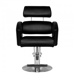 HAIR SYSTEM FOTEL fryzjerski HS02 CZARNY