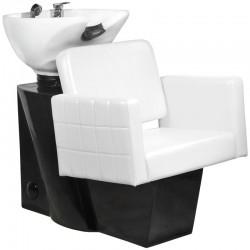 Bac a Shampoing  112066 BAC A SHAMPOING ANKARA BLANC