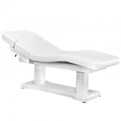 Table de Massage  125588 LIT D'ESTHÉTIQUE SPA 4 MOTEUR CHAUFFANT BLANC 818A