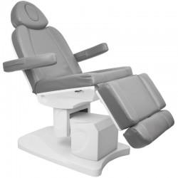 Table de Massage  110576 FAUTEUIL D' ESTHÉTIQUE ÉLECTRIQUE 4 MOTEUR GRIS 708A