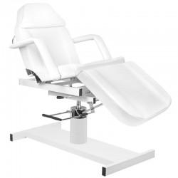 Table de Massage  114947 FAUTEUIL D'ESTHETIQUE HYDRAULIQUE BLANC 210D