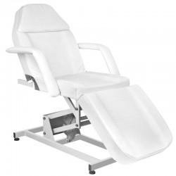 Table de Massage  122422 FAUTEUIL D'ESTHETIQUE ÉLECTRIQUE 1 MOTEUR BLANC 673A