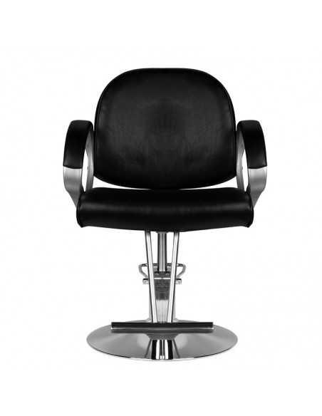 HAIR SYSTEM FOTEL fryzjerski HS00 CZARNY