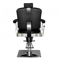 HAIR SYSTEM BARBER CHAIR SM180 BLACK