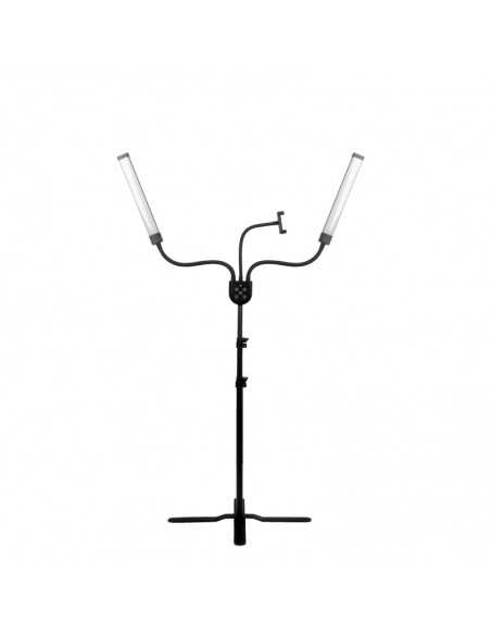 MAKE-UP AND EYELASH LED LAMP POLLUKS IV TYPE MSP-MJ-02 BLACK WITH A REMOTE CONTROL