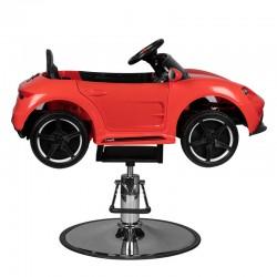 CHILDREN'S HAIRDRESSING CHAIR CAR PORSHE RED