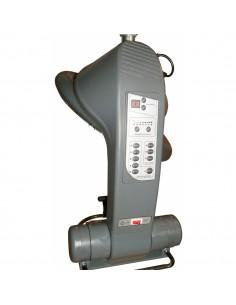 Climazon infrarouge  rotatif sur bras 1300W gris argenté