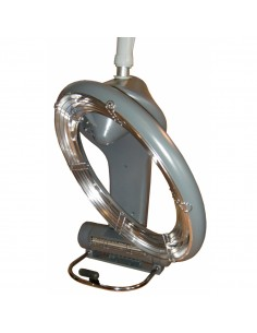 Climazon  001955 Climazon infrarouge rotatif sur bras 1300W gris argenté