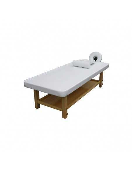 Table de Massage  001449BB Table de massage Ayurvédiques BLANC