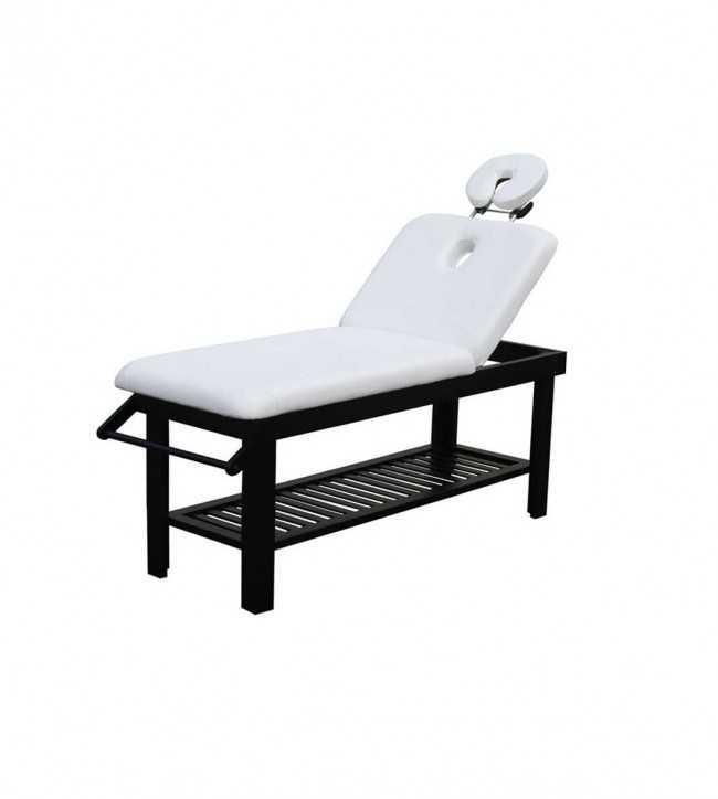Table de Massage  2216.A26.DB Table massage fixe 2 plans bois couleur wengé
