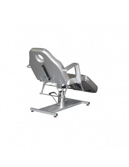3 sections gray hydraulic care chair