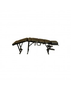 Black Portable Chiropractic Table