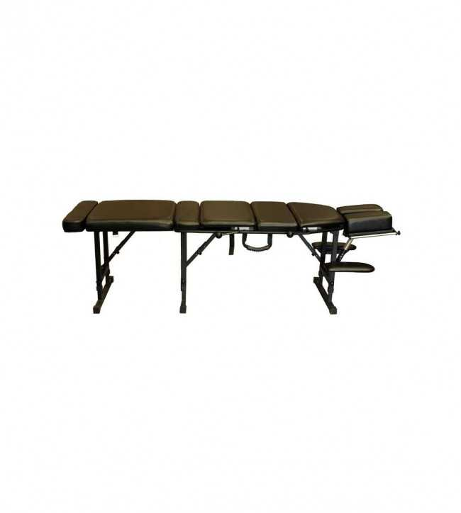 Table Chiropratique Portable Noir