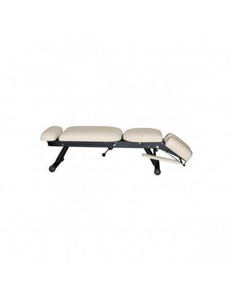 Chiropractic table 4 section beige