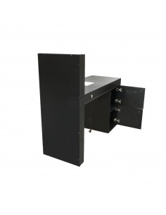 High-end manicure table with vacuum cleaner and led screen