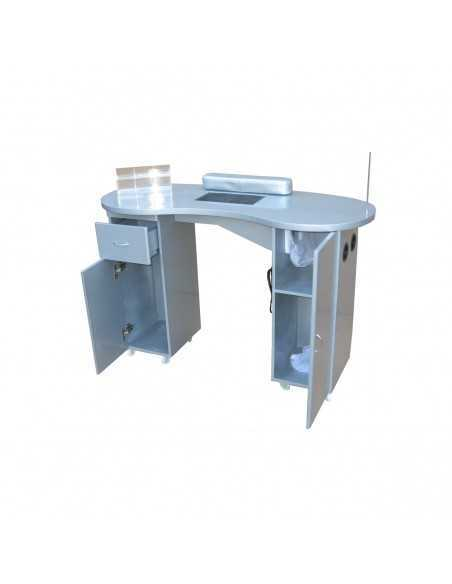 Manicure table with gray suction filter chamber
