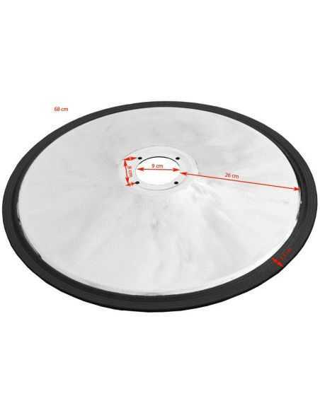 round hairdressing chair base