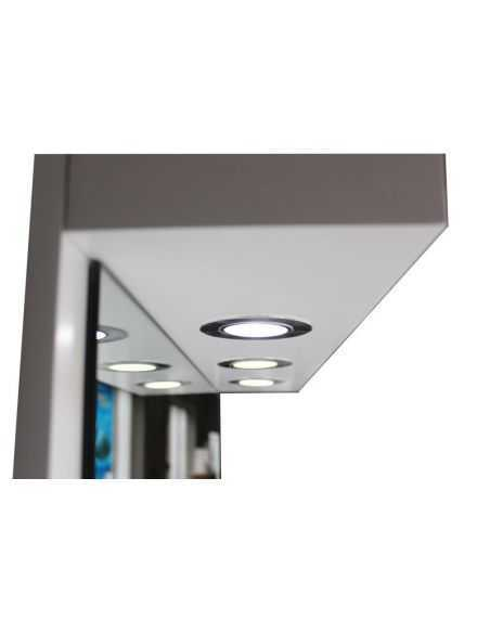 COIFFEUSE Mural lumineux LED Blanc