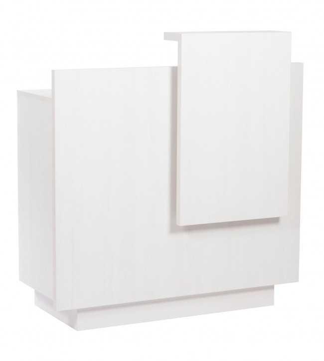 Banque d'accueil  0011541 Blanc Compoir D'Acceuil Lua Gris Blanc