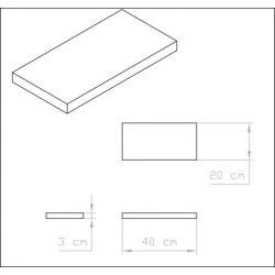 Hive Wood Shelf