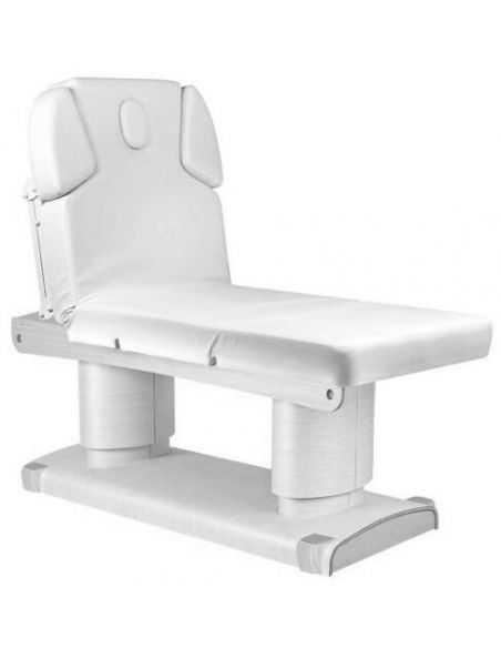 Table de Massage  HZ-3838 BLANC Table de spa électrique Qaus warm blanc