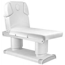 Table de Massage  HZ-3838-H BLANC Table de spa électrique avec chauffage qaus warm blanc