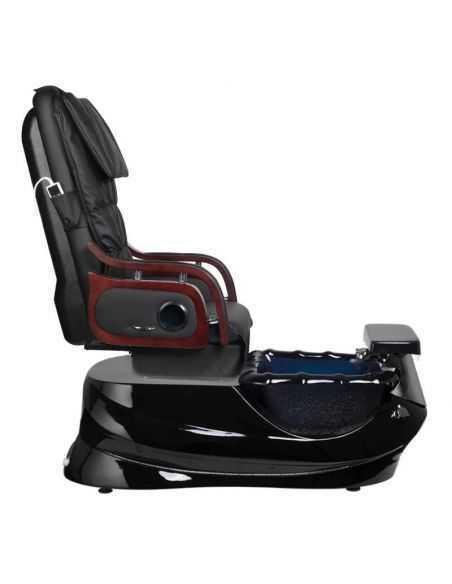 Chaise pédicure SPA avec massage noir